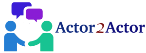 NEW Actor2Actor Large Logo