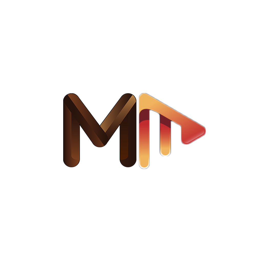 large Melanated Media LOGO